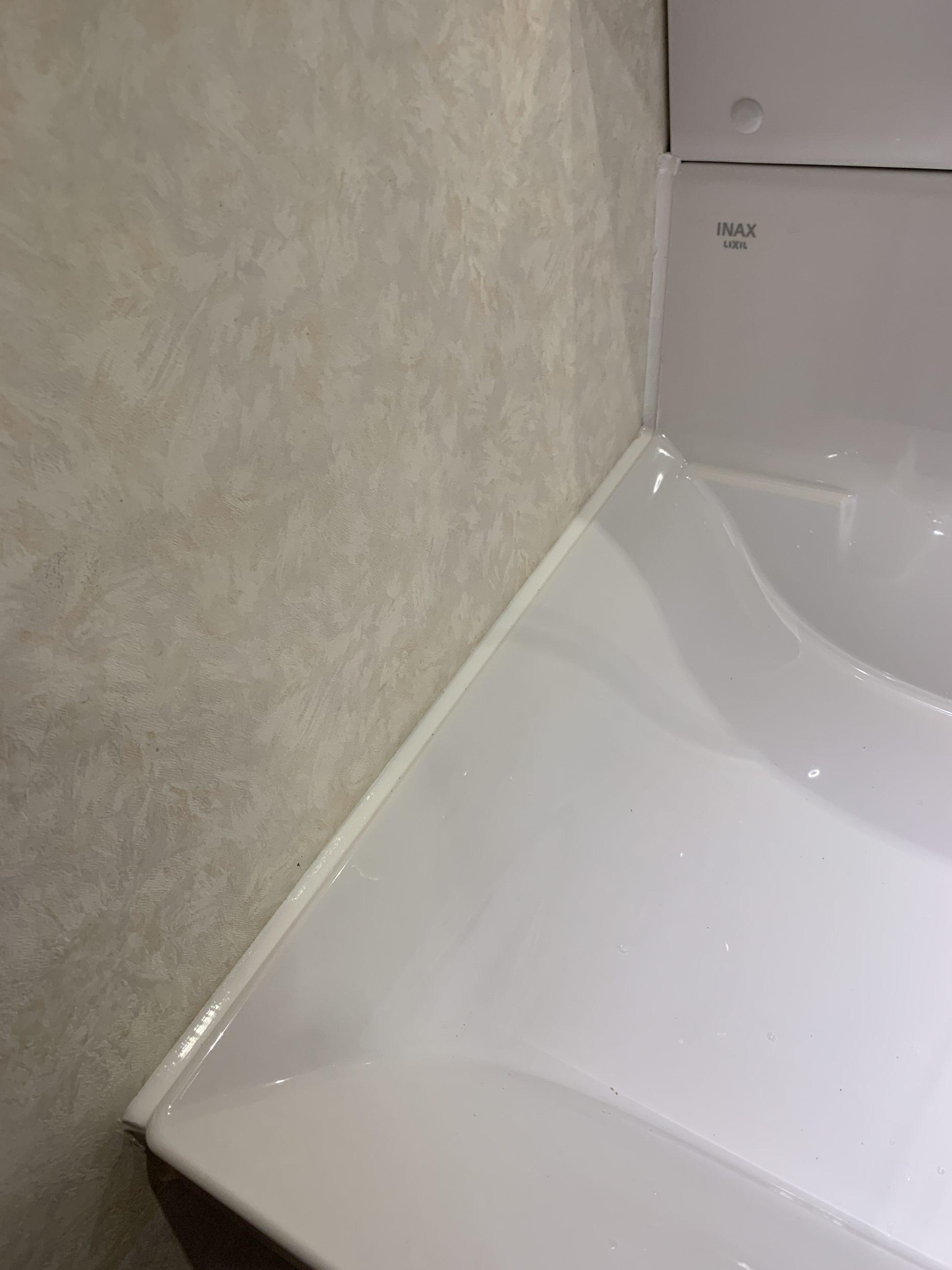 洗面台コーキング