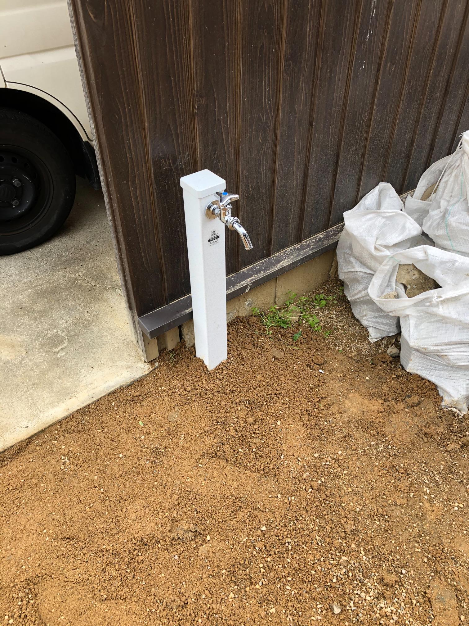 河内長野市 K様邸 散水栓設置工事